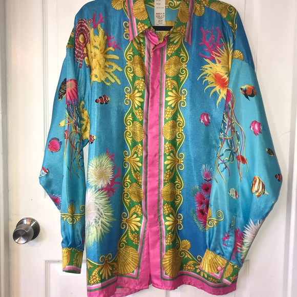322e57ee Gianni Versace Other - Men's vintage Gianni Versace Instante silk shirt.